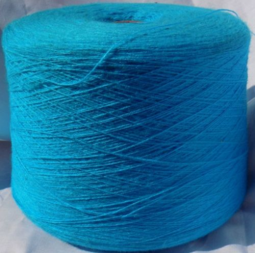 High Bulk Yarn 1/15s - Light Turquoise - 1500g